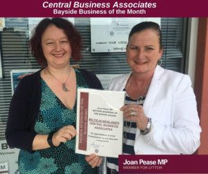 Joane Pease award July 2016
